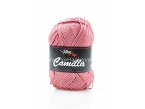 Příze Camilla 8029 tmavá starorůžová