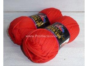 příze Seta Lux 20524 červená