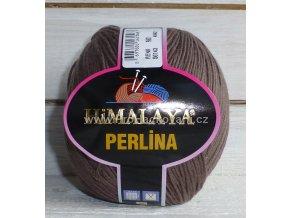 příze Perlina 50143 hnědá
