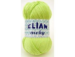 příze Elian Nicky 487 světle zelená