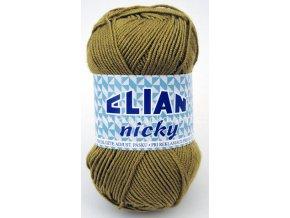 příze Elian Nicky 1552 světlá khaki