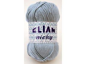 příze Elian Nicky 231 modrá