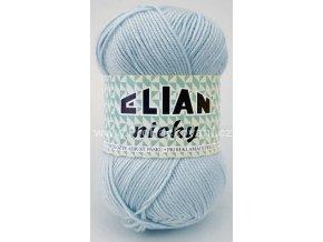 příze Elian Nicky 2586 světle modrá