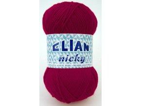 příze Elian Nicky 5410 fialová