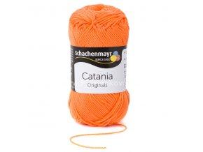 Příze Catania 386 lososově oranžová