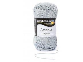 Příze Catania 172 světle šedá