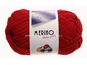 příze Merino 14715 červená