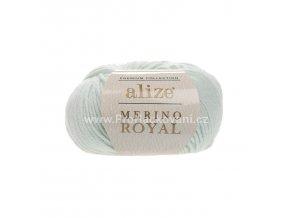 příze Merino Royal 522 mentolová