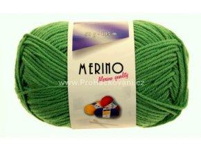 příze Merino 14740 trávová zelená