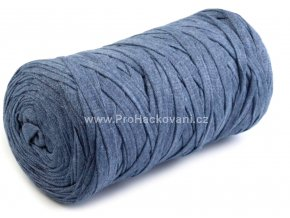 Ribbon Yarn Art tmavé šedomodré