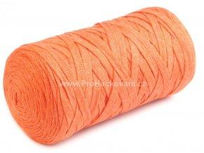 Ribbon Yarn Art oranžové