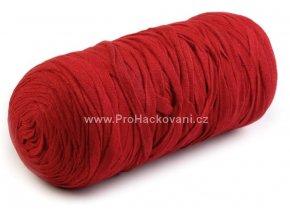 Ribbon Yarn Art červené