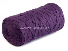 Ribbon Yarn Art tmavě fialové