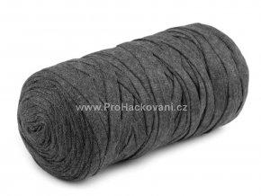 Ribbon Yarn Art antracitové