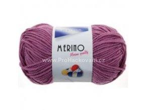 příze Merino 14773 světle růžovofialová