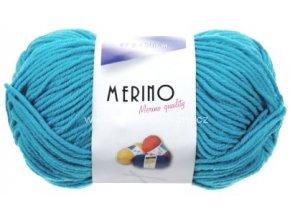 příze Merino 14776 tyrkysová