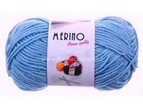 příze Merino 14818 nebeská modrá