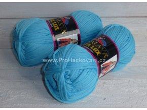 příze Seta Lux 20510 tyrkysově modrá
