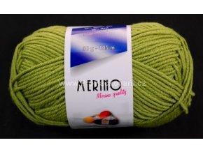příze Merino 14783 zelená