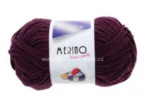příze Merino 14800 fialová lilková