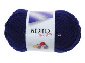 příze Merino 14801 švestkově modrá
