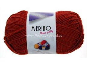 příze Merino 14806 cihlová