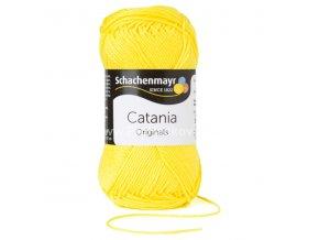 Příze Catania 280 kanárkově žlutá