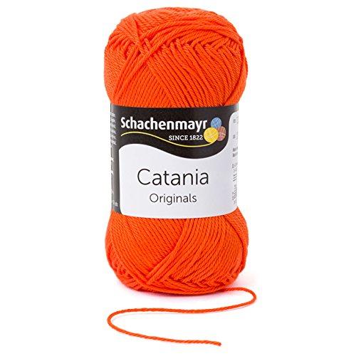 Příze Catania_189 červený pepř