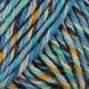 příze Gina Tropical 614 modrá, zelená, oranžová, hnědá, fialová