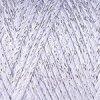 Macrame Cotton Lurex 720 světle šedá se stříbrnou nitkou