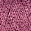 Macrame Cotton Lurex 743 starorůžová s růžovou nitkou
