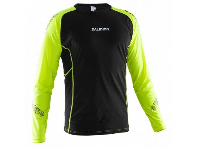 Ribanové triko dlouhý rukáv SALMING JR. 160Cm