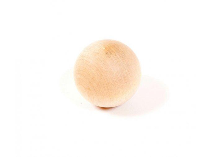 Míček dřevěný na trénink Blue Sports