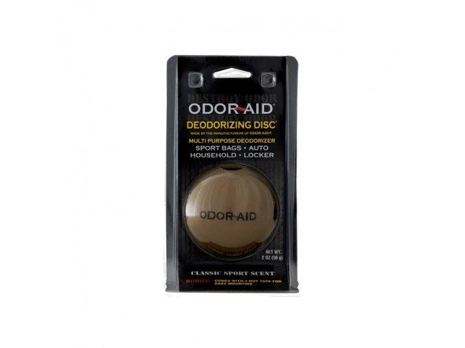 odor aid deodorizing disc sport scent