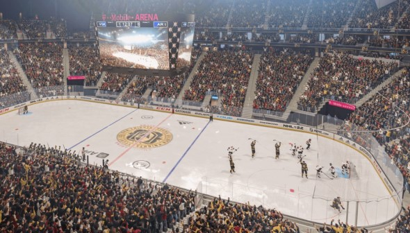 NHL 22 – vytuněná grafika ledového ostří