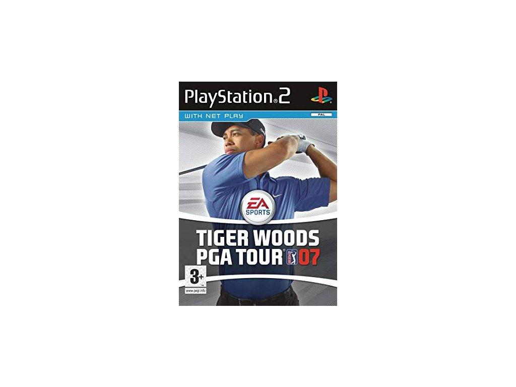 PS2 Tiger Woods PGA Tour 07