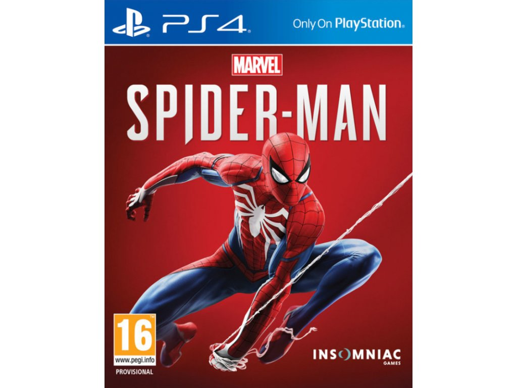 PS4 Spider-Man CZ - jen hra