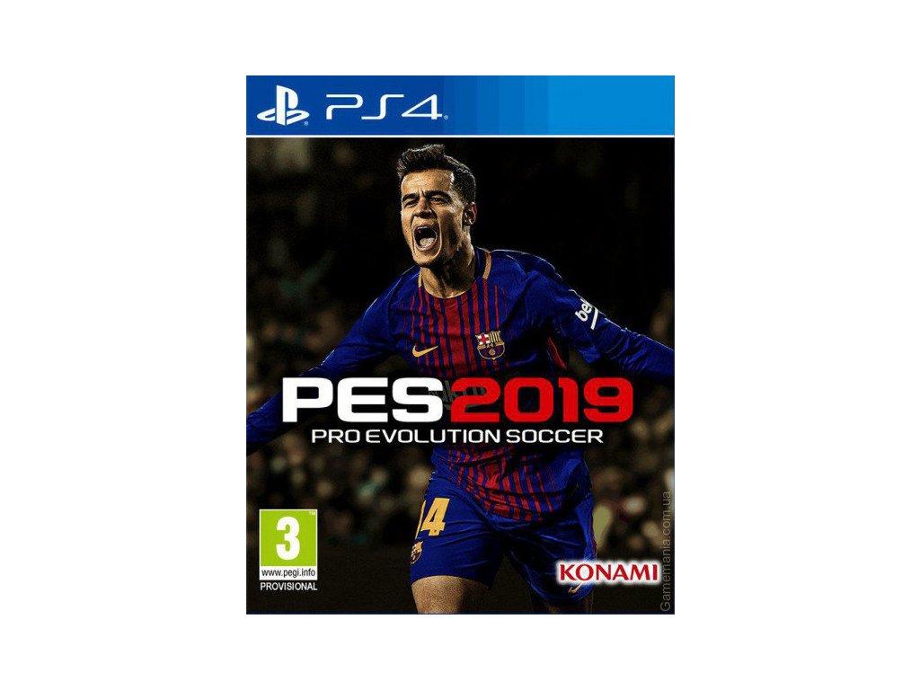 PS4 Pro Evolution Soccer 2019 - jen hra