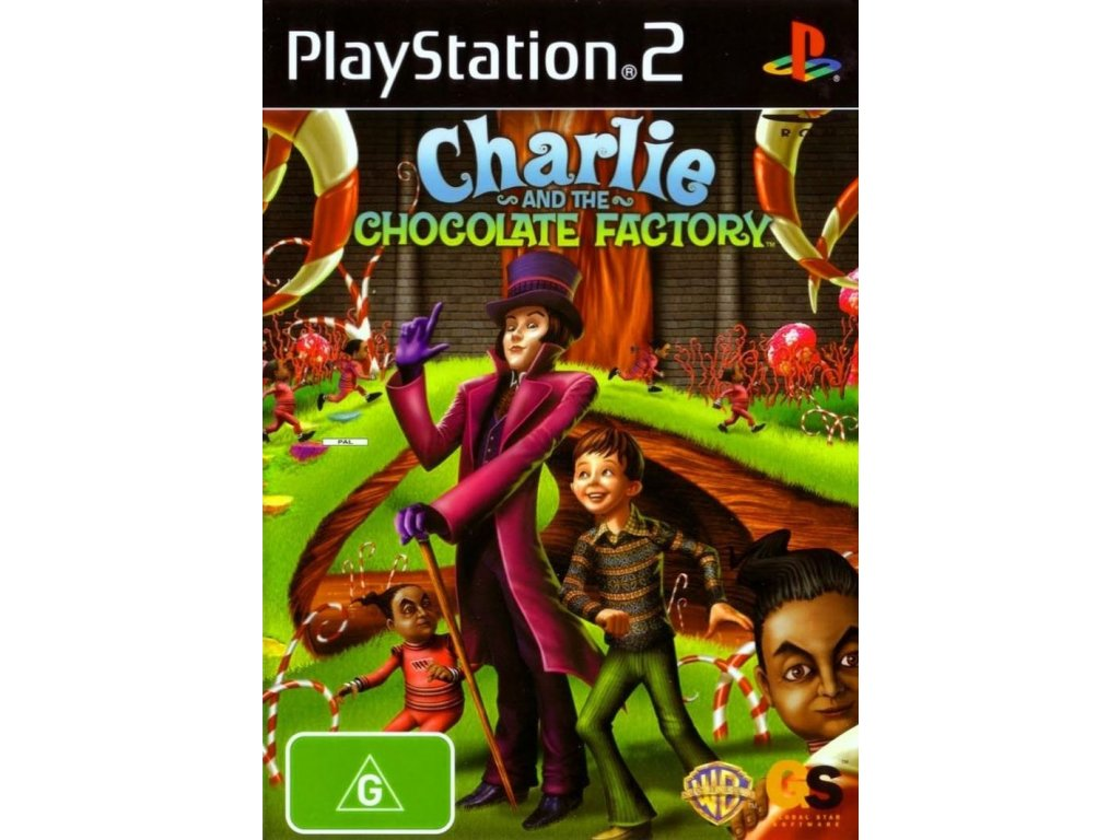 PS2 Charlie and The Chocolate Factory