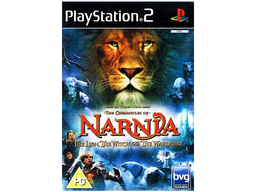 PS2 The Chronicles of Narnia The Lion The Witch and The Wardrobe