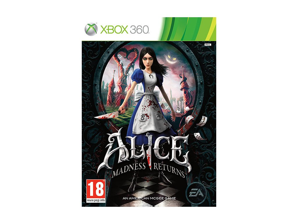 X360 Alice Madness Returns