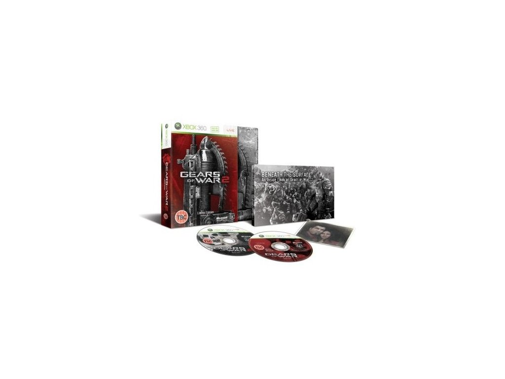 X360 Gears Of War 2 Limited Collectors Edition Steelbook CZ
