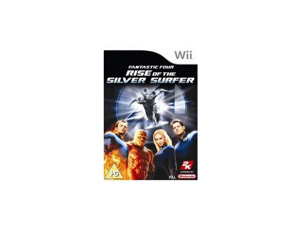 Wii Fantastic Four Rise of the Silver Surfer