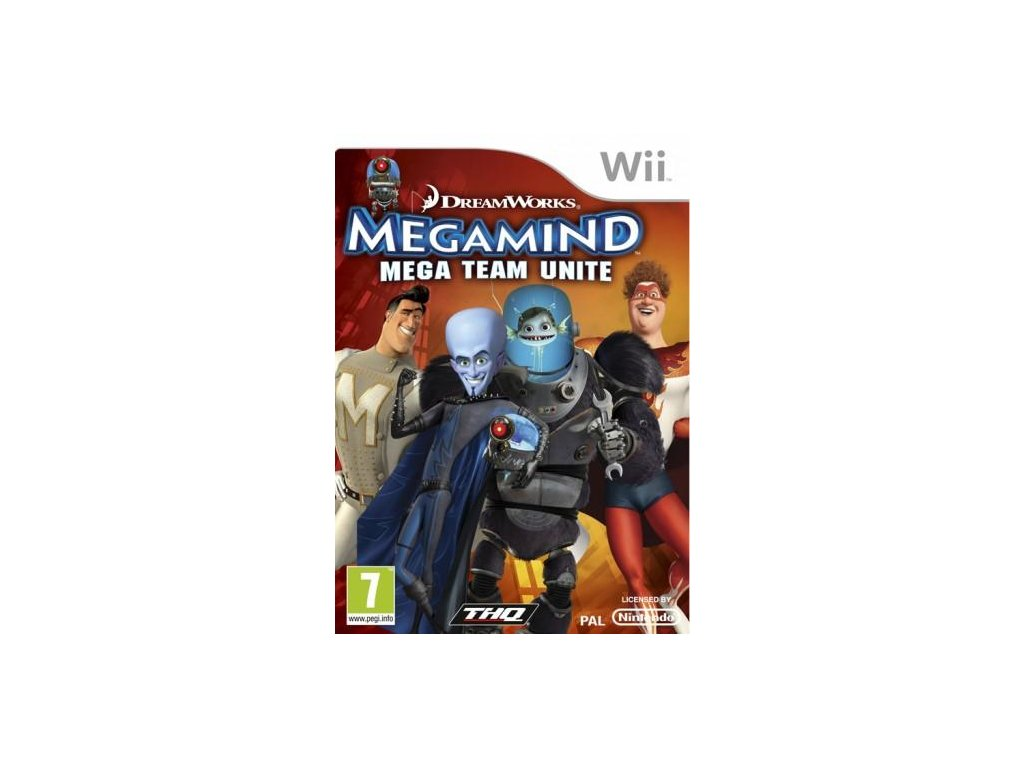Wii Megamind Mega Team Unite