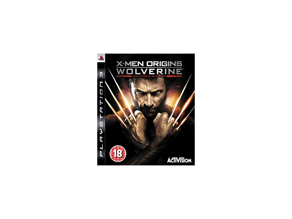 PS3 X-Men Origins Wolverine Uncaged Edition