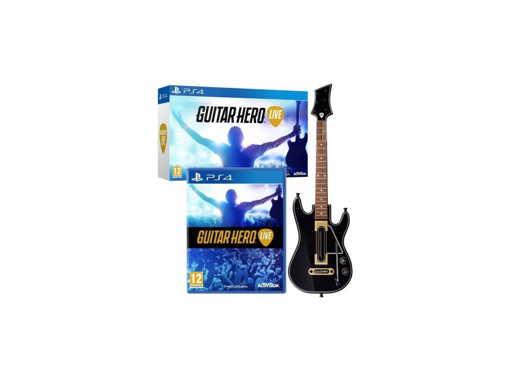 guitar hero live kytara ps4