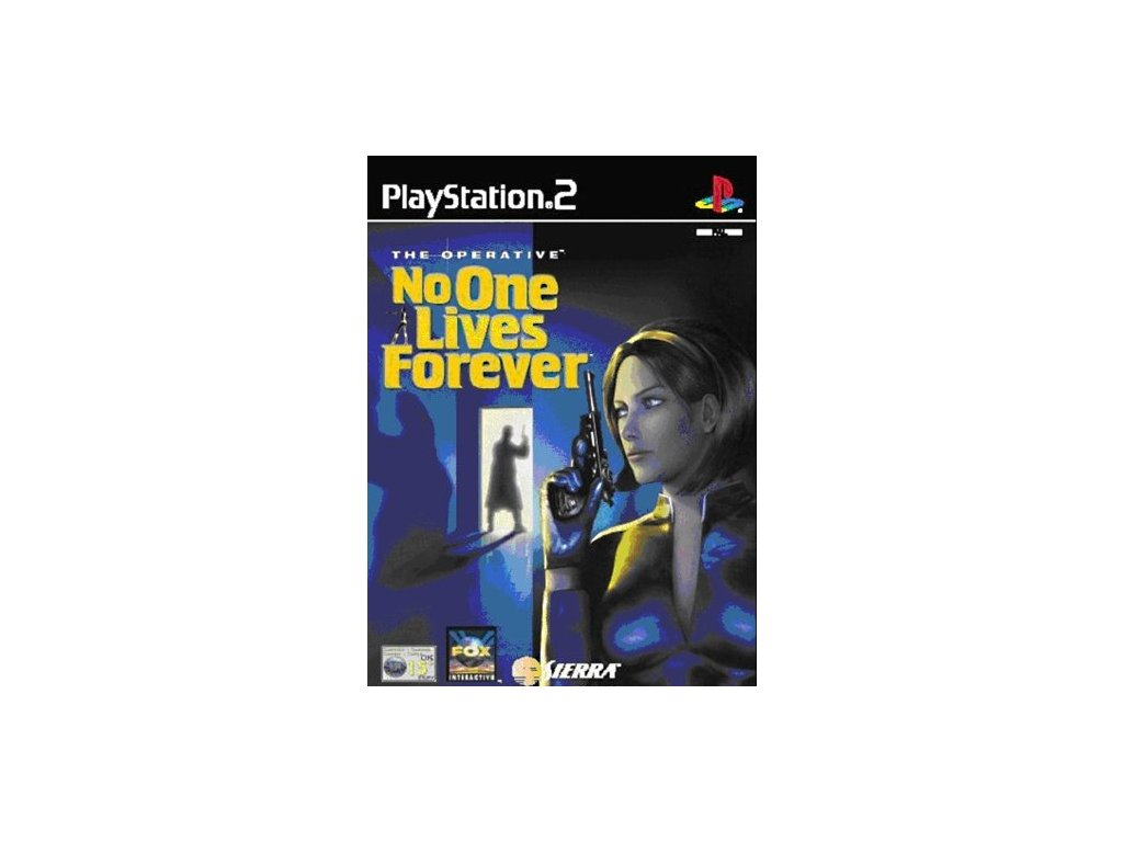 PS2 The Operation No One Lives Forever