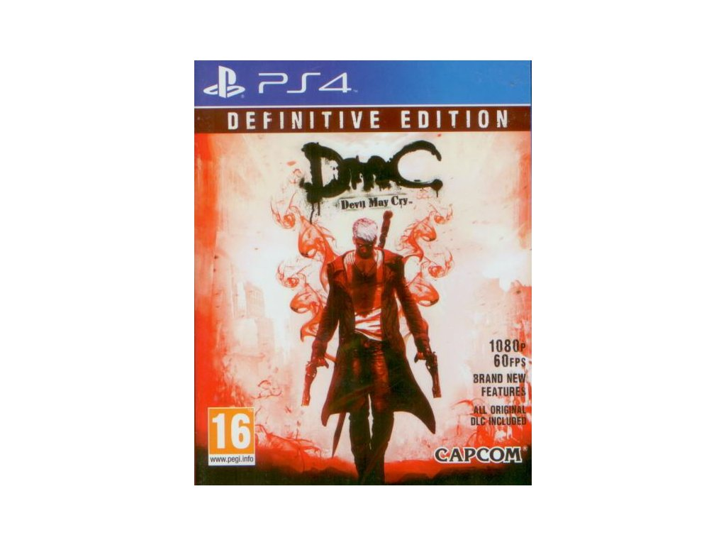 PS4 DMC Devil May Cry Definitive Edition
