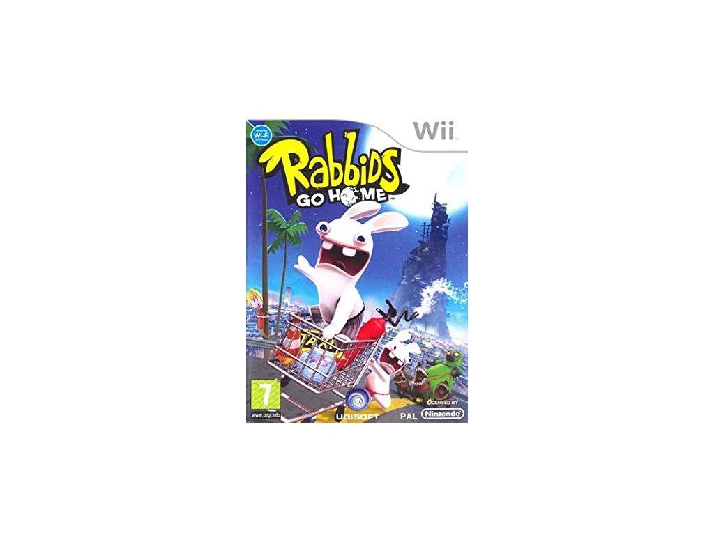 Wii Rabbids Go Home