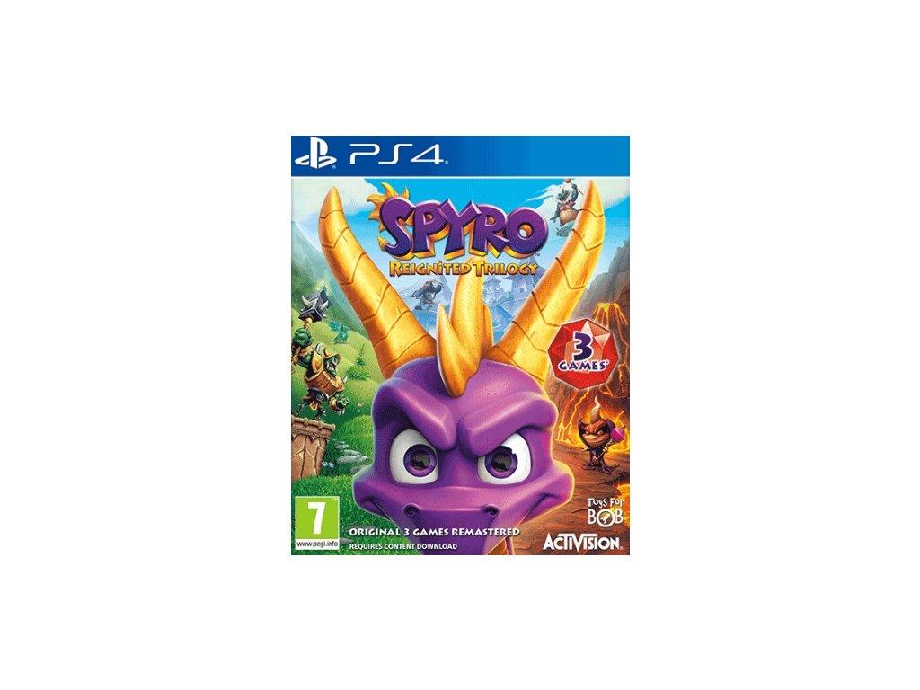 PS4 Spyro Reignited Trilogy Nové